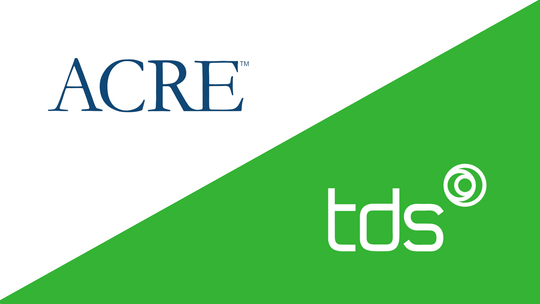 ACRE X TDS Banner