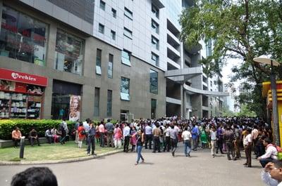 Earthquake_Leads_Office_Evacuation_-_Bengal_Intelligent_Park_-_Sector-V_-_Salt_Lake_City_-_Kolkata_2015-05-12_7094