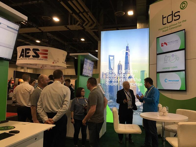 TDS at Day 2 of ISC West 2019