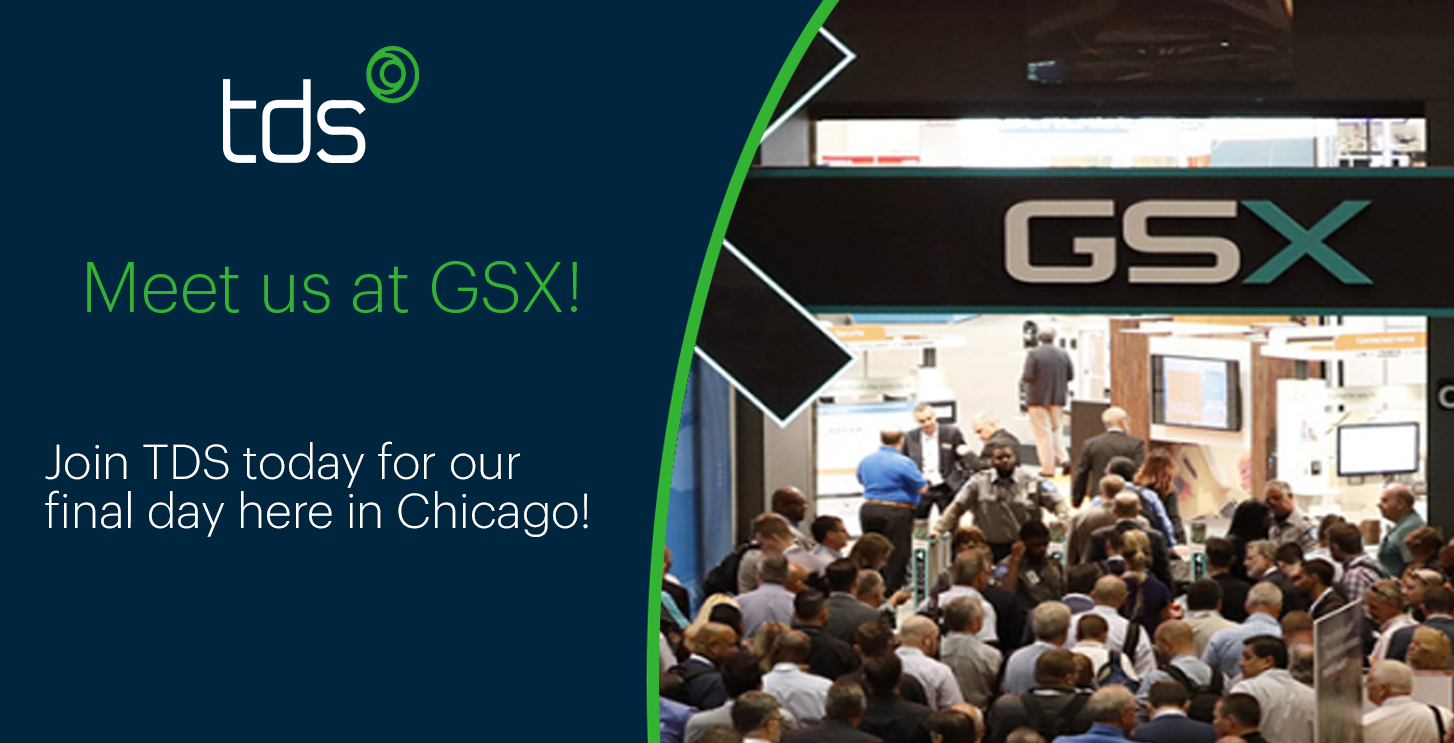 Join TDS for the final day of GSX!