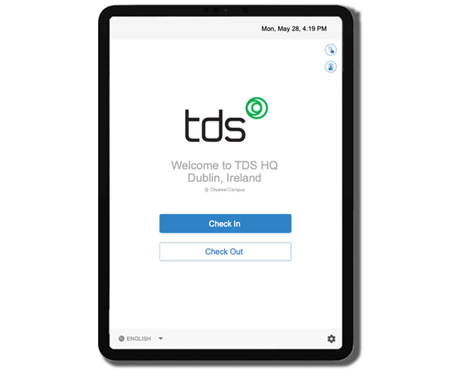 TDS-Visitor-Login-Screen