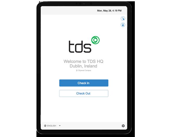 TDS-Visitor-Login-Screen